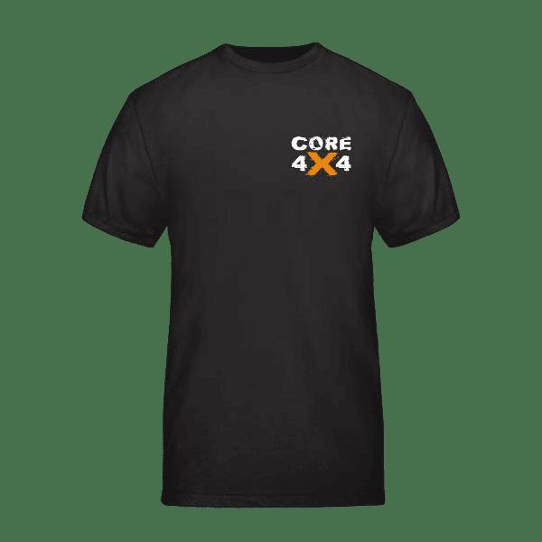 CORE4x4 Black T-Shirt