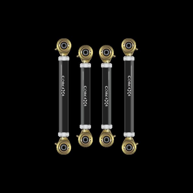 Tier 4 Adjustable Control Arms – Front Set